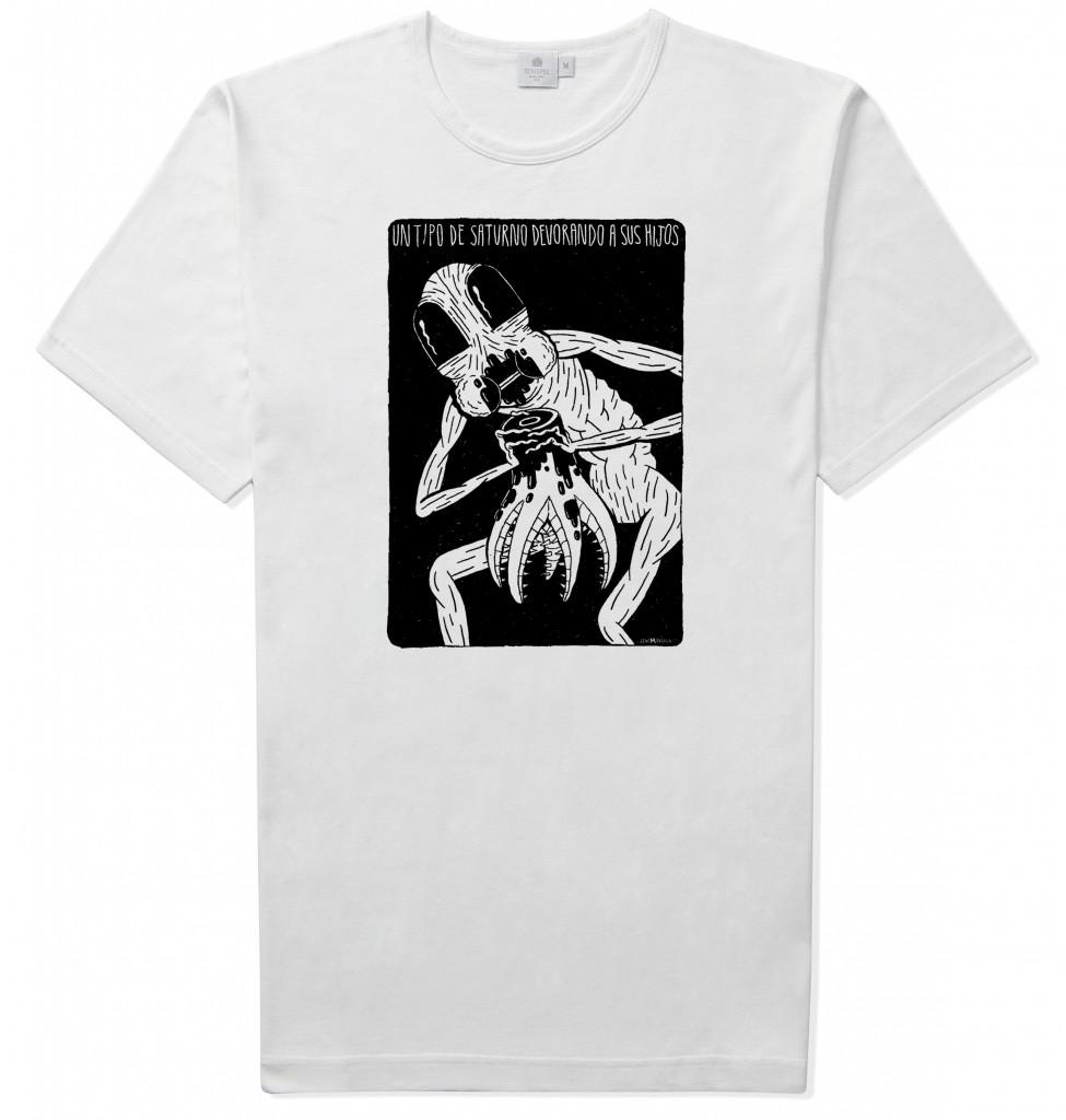camiseta alien 2